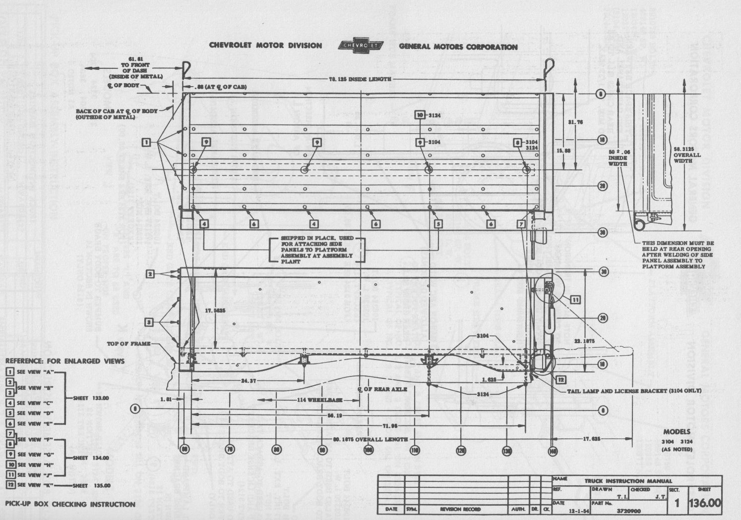 parts for 1958 chevy apache wiring diagram and fuse box