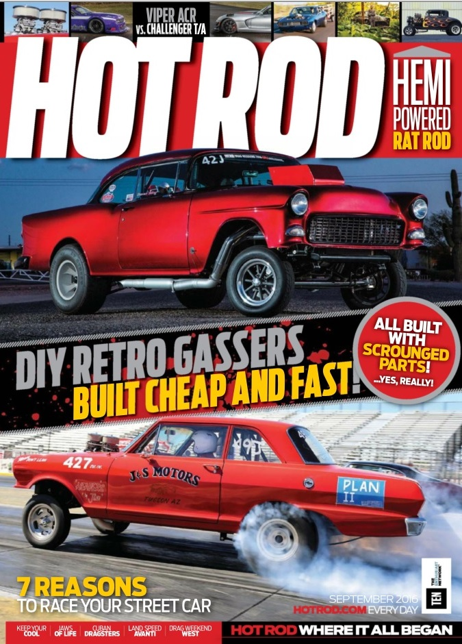 Hot Rod September 2016 Cover