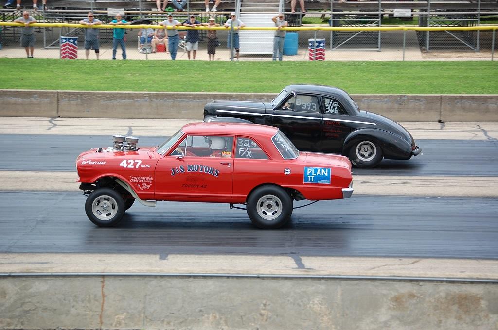 Racing at Byron