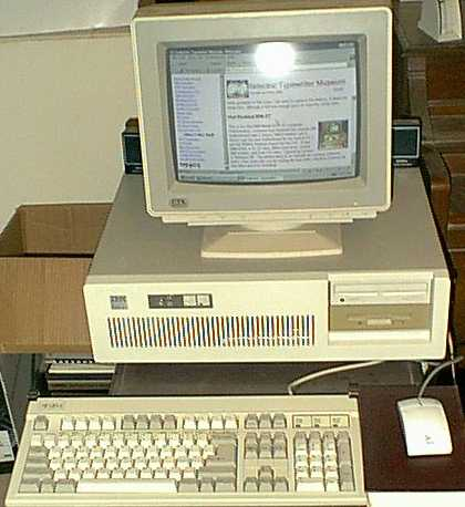 IBM Personal Computer 5150 PC, 5160 XT, and 5170 AT