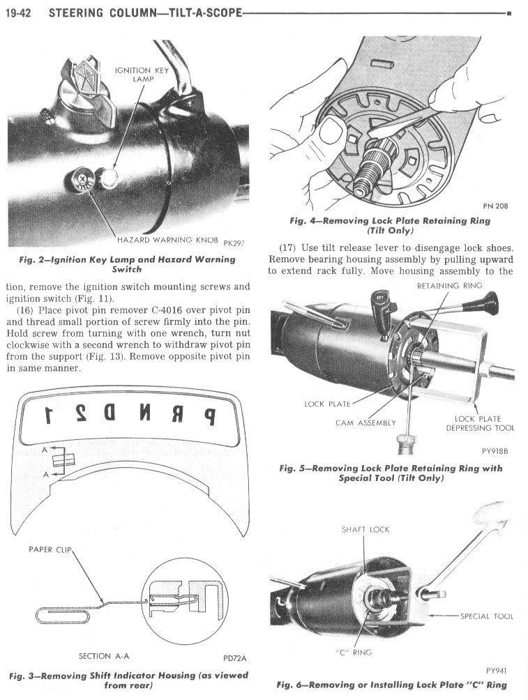selectric typewriter museum cars overhauling steering columns